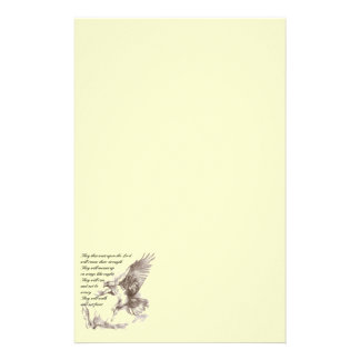 Eagle and Scripture Stationery