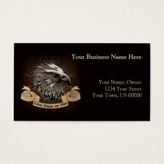 Eagle and Scroll Business Card