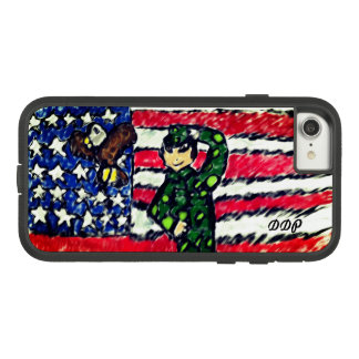 Eagle and solider Case-Mate tough extreme iPhone 8/7 case