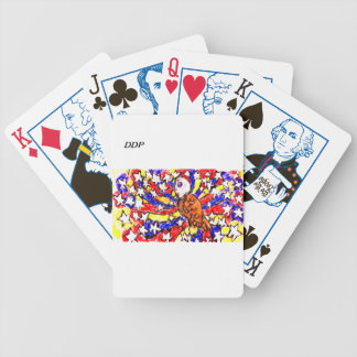 eagle and star bicycle playing cards