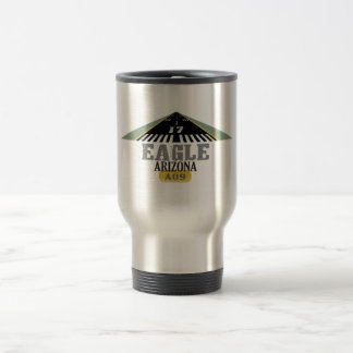 Eagle Arizona - Airport Runway Travel Mug