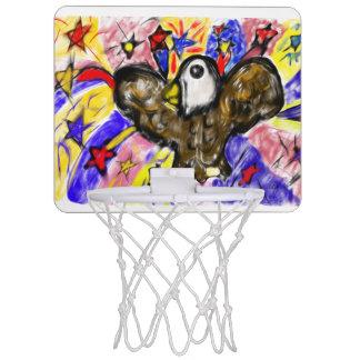 eagle art three mini basketball hoop