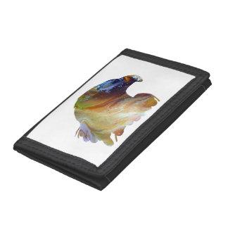 Eagle Art Tri-fold Wallet