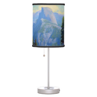 Eagle At Half Dome Table Lamp