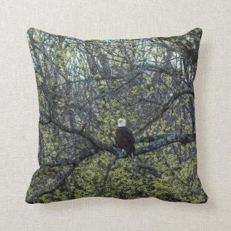 Eagle Awareness Throw Pillow