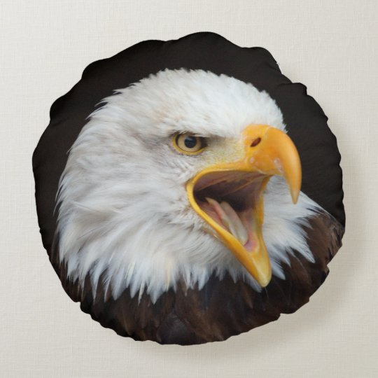 EAGLE bald eagles CUSHIONS/PILLOW/COUSSIN Round Pillow