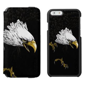 Eagle Bald Flying iPhone 6 Plus Case Incipio Watson™ iPhone 6 Wallet Case