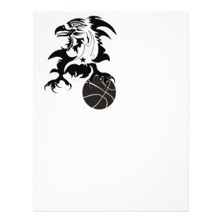 Eagle-Basketball-1-logo-2 Flyer Design