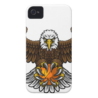 Eagle Basketball Sports Mascot iPhone 4 Cover
