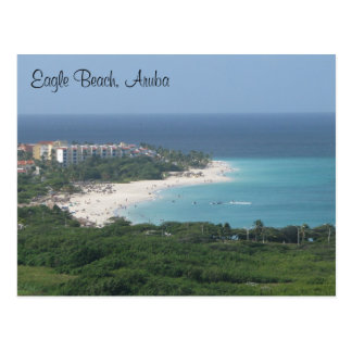 Eagle Beach, Aruba, on Postcard