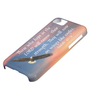 eagle bible verse Isaiah 40:31 Case-Mate iPhone Case