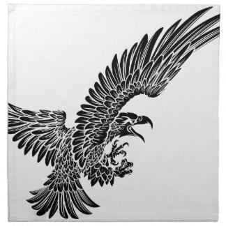 Eagle Bird Swooping Napkin