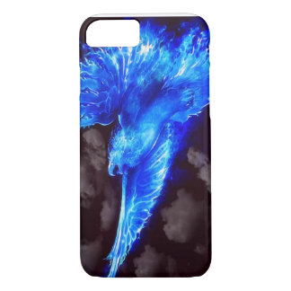 eagle blue fire iPhone 7 case