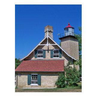 Eagle Bluff Lighthouse Postcard
