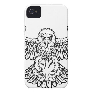 Eagle Bowling Sports Mascot iPhone 4 Case-Mate Case