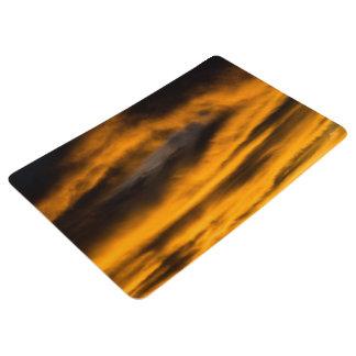 eagle burnout floor mat