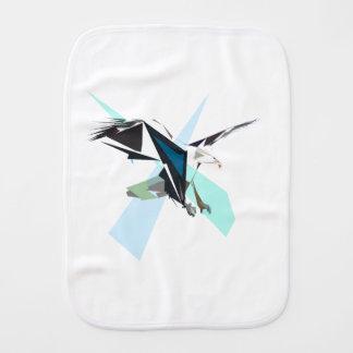 eagle burp cloth