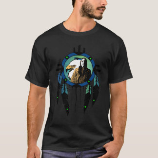 Eagle Chief Dream Catcher T-Shirt