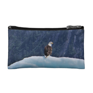 Eagle Chilling on an Iceberg Bags
