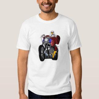 Eagle/Chopper/Twin Tower V-twin T Shirt