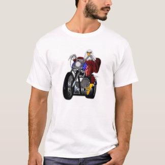 Eagle/Chopper/Twin Tower V-twin T-Shirt