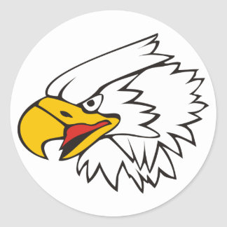Eagle Classic Round Sticker