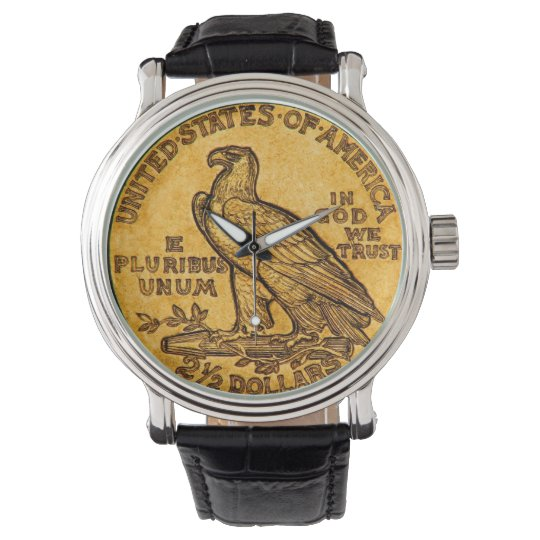 Eagle Coin Wrist Watch