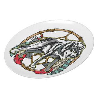 Eagle Dreamcatcher Party Plates