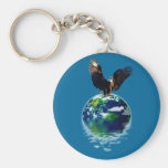 Eagle Earth Day Series Key Chain