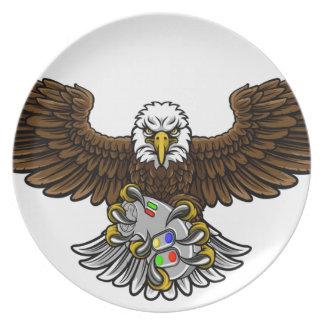Eagle Esports Sports Gamer Mascot Plate