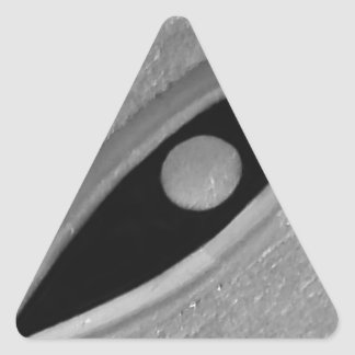 Eagle Eye Triangle Sticker