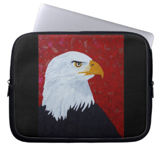 Eagle / Fire In The Sky Laptop Sleeves