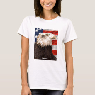 Eagle Fitted Ladies T-shirt