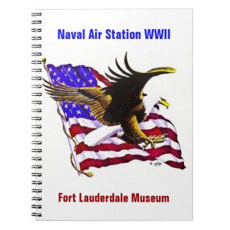 Eagle & Flag Notebook