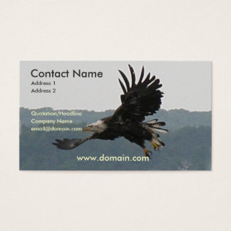 Eagle Flight Business Card