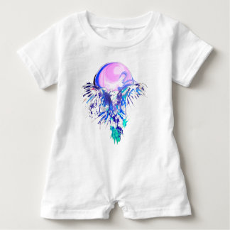eagle fly baby romper
