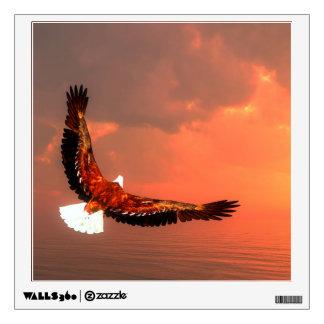 Eagle flying - 3D render Wall Sticker