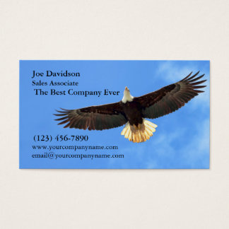 Eagle Flying Business Card