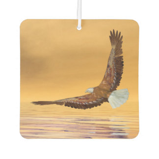 Eagle flying to the sun - 3D render Air Freshener
