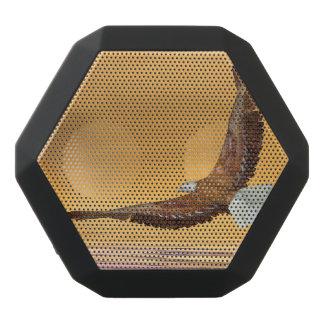 Eagle flying to the sun - 3D render Black Bluetooth Speaker