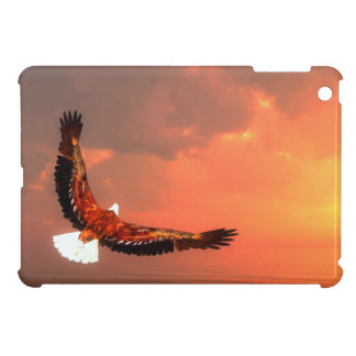 Eagle flying to the sun - 3D render iPad Mini Case