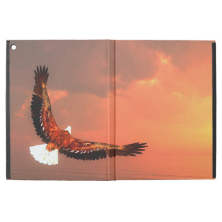 "Eagle flying to the sun - 3D render iPad Pro 12.9"" Case"
