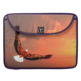 Eagle flying to the sun - 3D render Sleeve For MacBook Pro