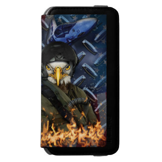 Eagle force rules the skys incipio watson™ iPhone 6 wallet case