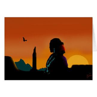 Eagle Gaze Card