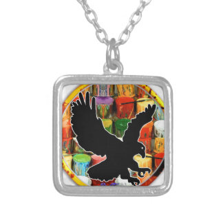 EAGLE GIFT CIRCLE CUSTOMIZABLE PRODUCTS PENDANTS