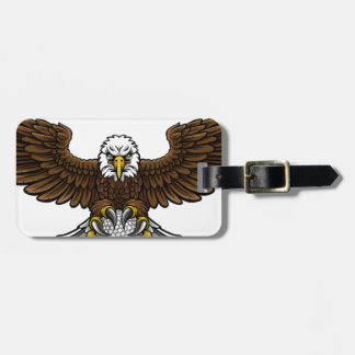 Eagle Golf Sports Mascot Luggage Tag
