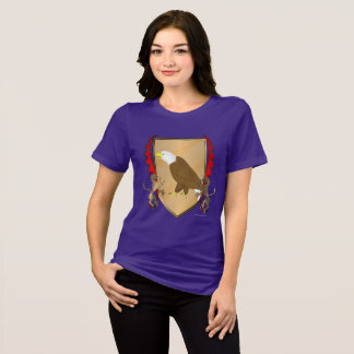 Eagle Griffon Shield Ladies Relaxed Fit T-Shirt