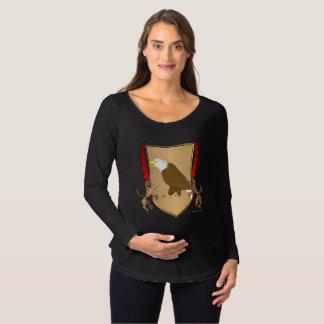 Eagle Griffon Shield Maternity Long Sleeve Shirt