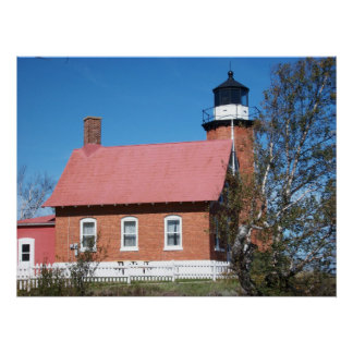 Eagle Harbor Lighthouse Photo Poster